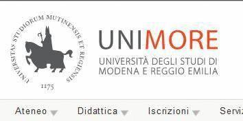 Immatricolazione Università di Modena e Reggio Emilia
