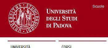 Immatricolazione Università di Padova