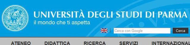 Immatricolazione Università di Parma