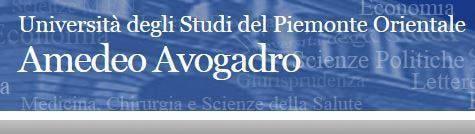 Immatricolazione Università Piemonte Orientale