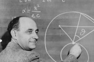 Enrico Fermi, premio nobel per la fisica nel 1938, è considerato il padre della medicina nucleare