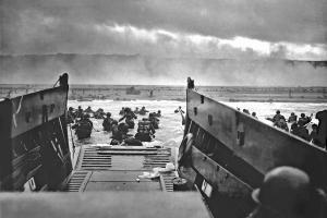 Un momento del D-day