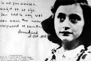 Anna Frank, autrice del noto Diario