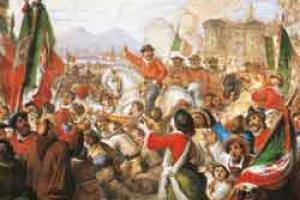 Garibaldi a Napoli