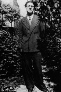 Cesare Pavese in una fotografia