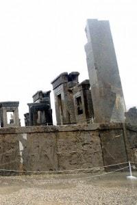 Le rovine del palazzo di Dario a Persepolis
