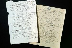 Pagine dai manoscritti di Carducci