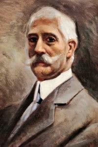 Ritratto dello scrittore Giovanni Verga