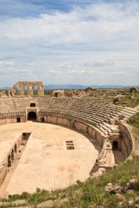 Vecchio colosseo romano di Cartagine