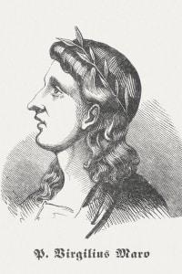 Raffigurazione di Virgilio