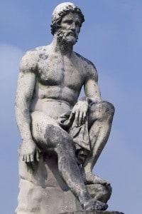 Statua raffigurante Ulisse