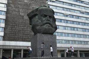 Statua di Karl Marx a Chemnitz