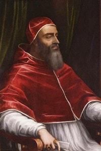 Clemente VII ritratto da Sebastiano del Piombo