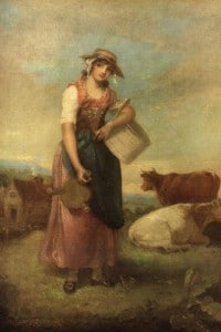 Contadina nel 1800
