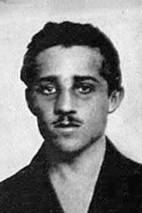 Gavrilo Princip, resposabile dell'attentato del 28 giugno 1914  che fece scoppiare la Prima Guerra Mondiale