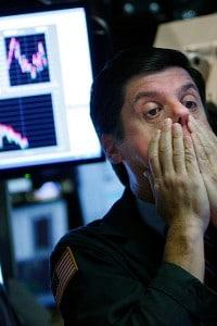 Borsa di New York  il  7 ottobre del 2008