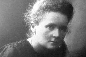 La scienziata Marie SkÅodowska Curie, conosciuta come Marie Curie