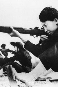 Esercitazione di donne nel 1962 nel Vietnam del Sud