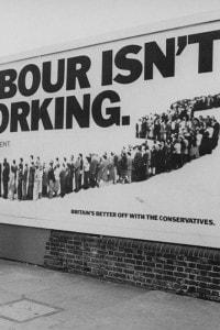 Campagna pubblicitaria del partito conservatore per le elezioni del 1979