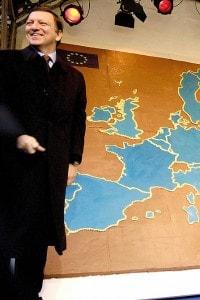 I Presindenti della Commissione europea il giorno dell'adesione dei nuovi stati membri: Bulgaria e Romania