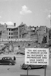 Blocco di Berlino l'11 maggio del 1949
