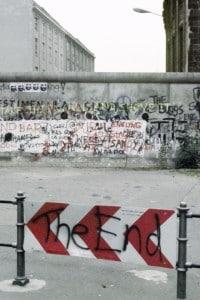 Immagine del muro di Berlino