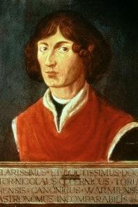 Niccolò Copernico portò per primo all'affermazione della teoria eliocentrica, già avanzata da Aristarco di Samo