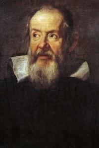 Un'immagine di Galileo Galilei, il primo a confermare la teoria copernicana e ad introdurre il metodo sperimentale nella ricerca scientifica