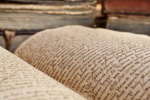 Testo antico in latino