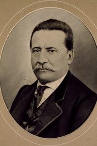 Ritratto di Ruggero Pascoli, padre del poeta
