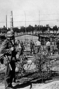 1940: immagine di un campo di concentramento in Polonia