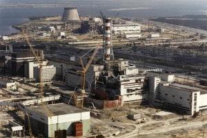 La centrale nucleare di Chernobyl