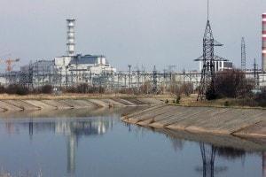 Panoramica della centrale di Chernobyl oggi