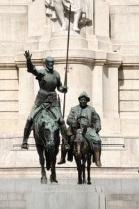 Statua di Don Chisciotte e Sancho Panza