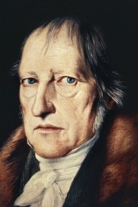 Ritratto di Friedrich Hegel