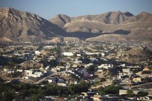 Foto della città messicana Ciudad Juarez