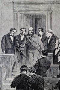 Giuseppe Garibaldi nella Camera dei Deputati a Roma, il 25 gennaio 1875