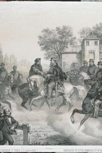 L'incontro tra Garibaldi e Vittorio Emanuele II, il 26 ottobre del 1860 a Teano
