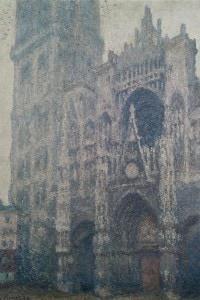 """""""Cattedrale di Rouen, tempo grigio"""", 1894, Claude Monet"""