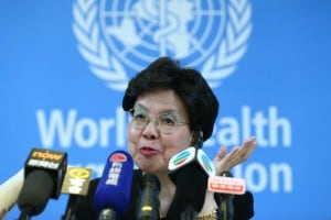 Margaret Chan, attuale direttore generale dell'OMS