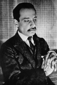 Foto del poeta Rainer Maria Rilke