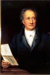 Ritratto di Johann Wolfgang von Goethe