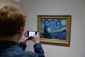 La notte stellata di Van Gogh esposta al MOMA di New York