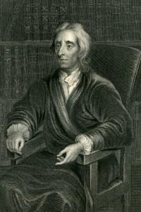 Ritratto del filosofo John Locke