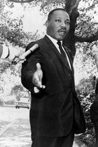 Foto di Martin Luther King