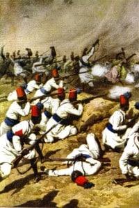 Illustrazione della Guerra di Libia