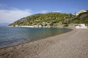 L'attuale Golfo di Corinto, teatro della Battaglia di Lepanto