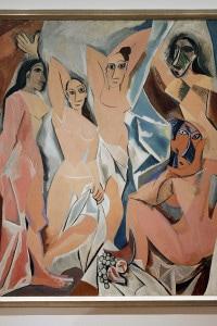 Les Demoiselles d'Avignon, opera di Pablo Picasso