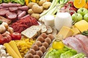 Alimenti contenenti proteine