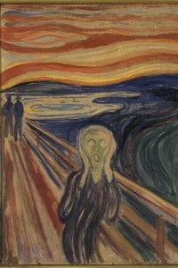 Edvard Munch, L'urlo (prima versione)